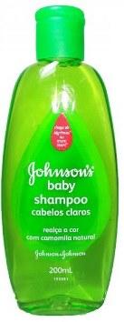 Shampoo de bebê Johnson & Johnson - Cabelos Claros