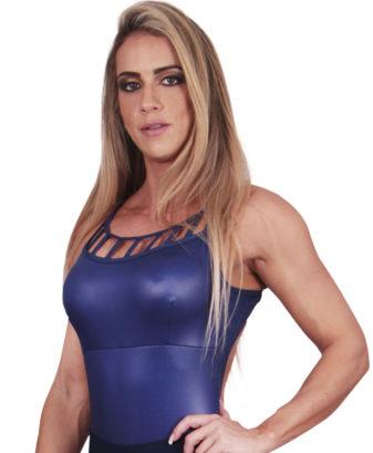 Body com bojo Eletric Blue
