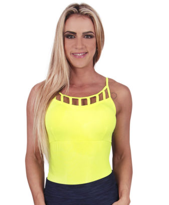 Body com bojo Eletric Fluor