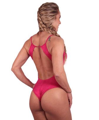 Body Feminino Strapy com bojo Marinho Mescla