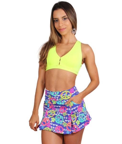 Short Saia Fitness Piece & Love