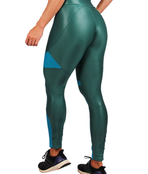 Legging Cirre Eletric Shapes - Verde