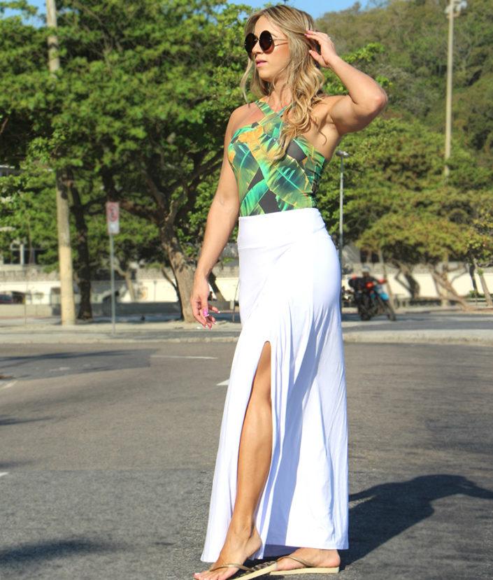 saia longa branca com fenda 2