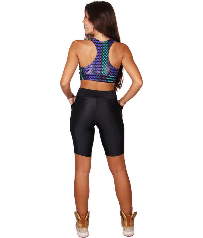 bermuda fitness preta anatomick pocket 6