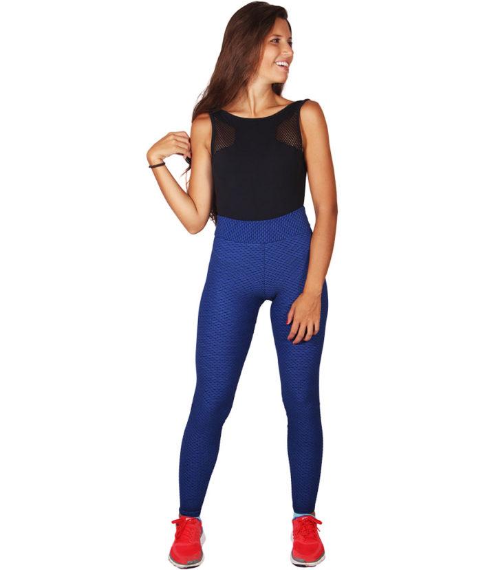 Calça Legging Gel Azul 4