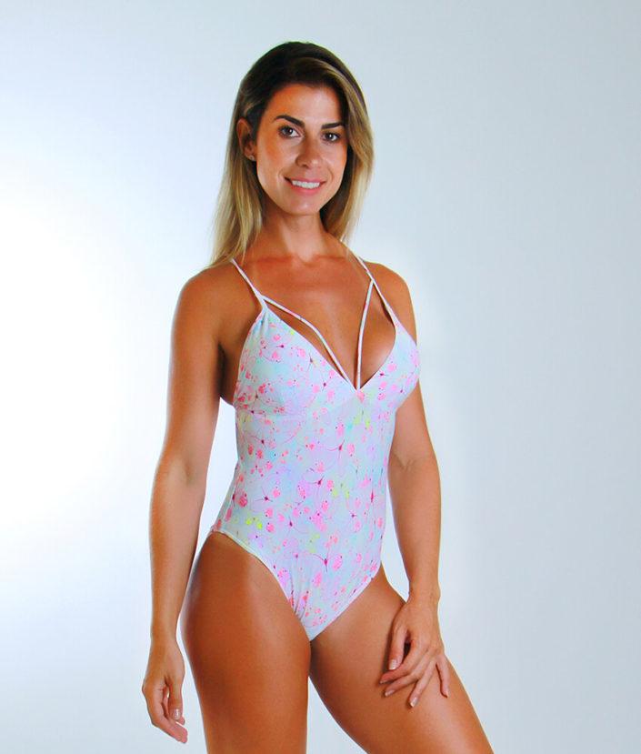 Body Feminino Strapy Borboleta Rosa (1)