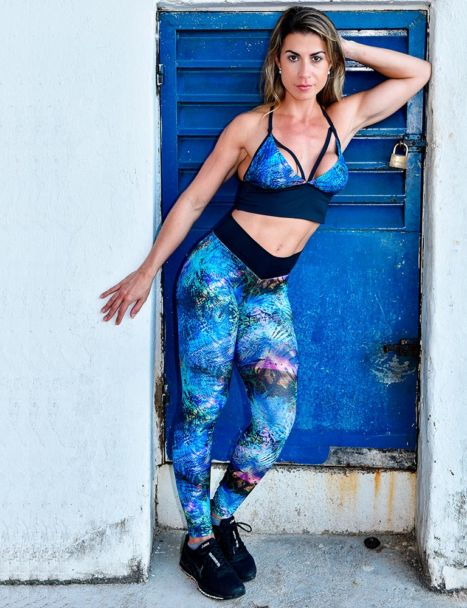 calça legging estampada colors collection 2