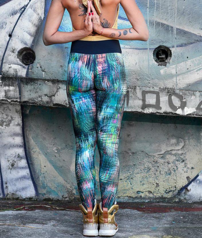 calça legging estampada tropical collection 4